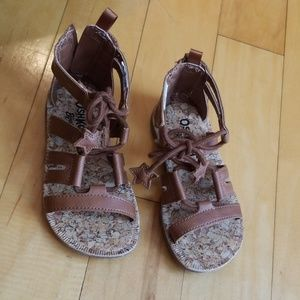 5/$20 Oshkosh Gladiator Sandals